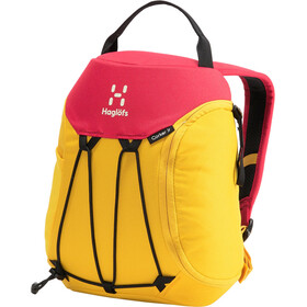 Haglöfs Corker Backpack Youth, pumpkin yellow/scarlet red